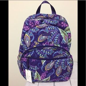 New Vera Bradley Backpack Laptop Backpack